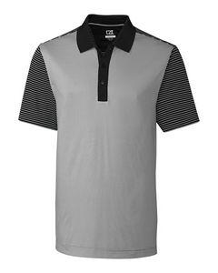 396127079-106 - Compound Mixed Stripe Polo - thumbnail