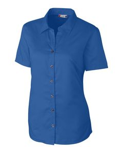 534203289-106 - Ladies' Clique® S/S Avesta Lady Stain Resistant Twill Shirt - thumbnail