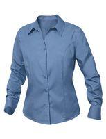 534497621-106 - Women's Plus Clique® Long Sleeve Caitlin Stain Resistant Twill Shirt - thumbnail
