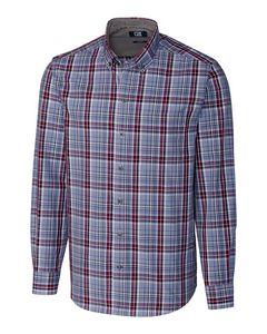 536361192-106 - L/S Non-Iron Dean Plaid Big & Tall - thumbnail