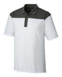 544497399-106 - Men's Parma Colorblock Polo Shirt - thumbnail