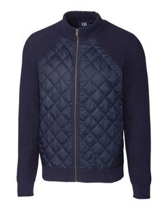 546361365-106 - Walter Full Zip Quilted Sweater Jacket - thumbnail