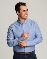 565706614-106 - Men's Cutter & Buck® Epic Easy Care L/S Stretch Oxford Shirt (Big & Tall) - thumbnail
