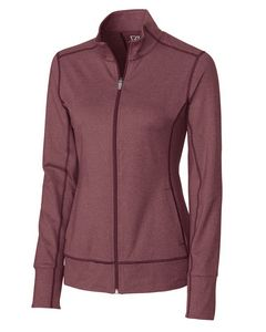 584493814-106 - Ladies' Cutter & Buck® DryTec Topspin Full-Zip Jacket - thumbnail