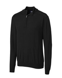 596246070-106 - L/S Douglas Half Zip Mock Big & Tall - thumbnail