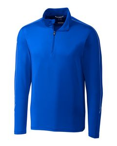 725436669-106 - Men's Cutter & Buck® Pennant Sport Half-Zip Shirt - thumbnail
