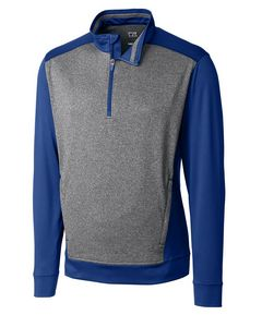 725437951-106 - Men's Cutter & Buck® Replay Half-Zip Shirt - thumbnail