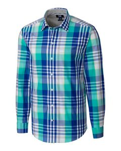 736361190-106 - L/S Non-Iron Cooper Plaid Big & Tall - thumbnail