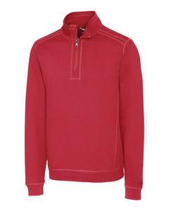 945260788-106 - Men's Cutter & Buck® Bayview Half-Zip Shirt - thumbnail