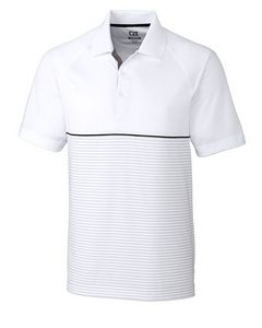 946152877-106 - Junction Stripe Hybrid Polo - thumbnail