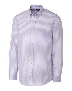 956361133-106 - L/S Cypress Wrinkle Free Stripe - thumbnail