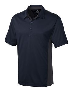 964493677-106 - Men's Cutter & Buck® DryTec Willows Colorblock Polo Shirt - thumbnail