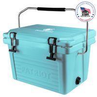125885937-142 - 20QT Patriot® Aqua Marine Cooler - Made in the USA - thumbnail