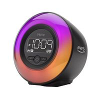 176478794-142 - iHome Powerclock Glow Bluetooth Color Changing Alarm Clock IBT295B - thumbnail