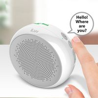 185684185-142 - iLuv Aud Shower Water Resistant Bluetooth Speaker with Hands-Free Talking - thumbnail
