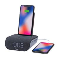 545823291-142 - iHome IBTW20 Dual-Charging Alarm Clock And Wireless Speaker - thumbnail
