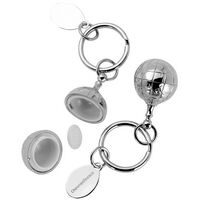 703714519-142 - Globe Pillbox Keychain - thumbnail