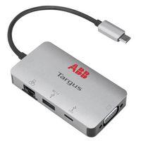 976247724-142 - Targus USB-C DP Alt Mode Single Video VGA Docking Station With 100W PD Pass-Thru - thumbnail