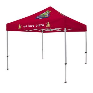 106185565-108 - 10' Elite Tent Kit (Full-Color Imprint, 3 Locations) - thumbnail