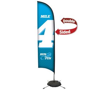 133728287-108 - 13' Premium Razor Sail Sign, 2-Sided, Scissor Base - thumbnail