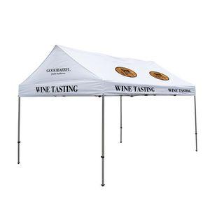 166185585-108 - 10' x 15' Premium Gable Tent Kit - 12 Location Imprint - thumbnail