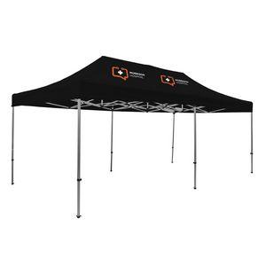 305009834-108 - Premium Aluminum 20' Tent Kit (Imprinted, 2 Locations) - thumbnail