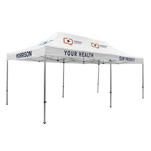 305009839-108 - 20' Premium Tent Kit (Imprinted, 7 Locations) - thumbnail