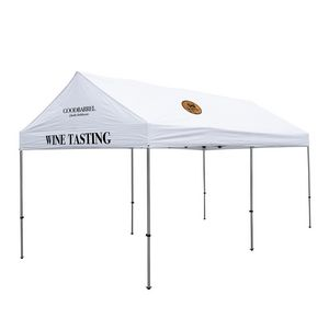 306185568-108 - 10' x 20' Premium Gable Tent Kit - 3 Location Imprint - thumbnail