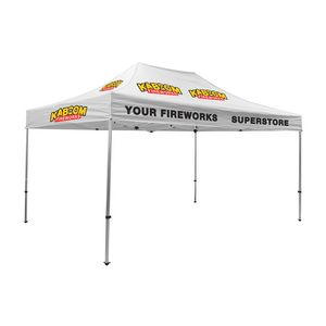 375009829-108 - Premium Aluminum 15' Tent Kit (Imprinted, 10 Locations) - thumbnail