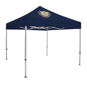 546195347-108 - 10' Elite Tent Kit (Full-Color Imprint, 1 Location) - thumbnail