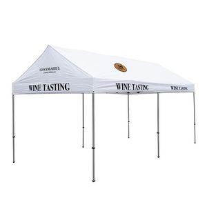 566185581-108 - 10' x 20' Gable Tent Kit (Full-Color Imprint, 5 Locations) - thumbnail