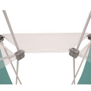 595565955-108 - Deluxe GeoMetrix Clear Connector Shelf - thumbnail