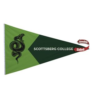716058210-108 - Nylon Pennant Flag (Double-Sided) - 5' x 8' - thumbnail