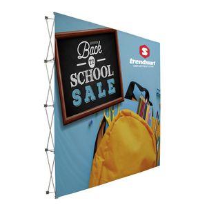 736188445-108 - 10' Tall Splash Floor Display Face Kit (Polyester Knit) - thumbnail