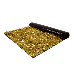 746197122-108 - Embossed Gold and Standard Black Floral Sheeting (5 Yards) - thumbnail
