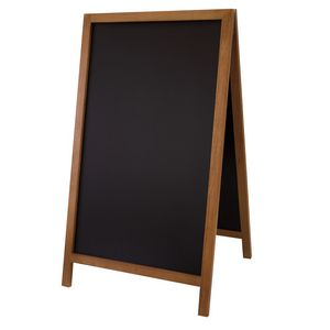 """795916007-108 - 46"""" Deluxe Wood A-Frame Chalkboard Hardware - thumbnail"""