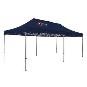 905009833-108 - Premium Aluminum 20' Tent Kit (Imprinted, 1 Location) - thumbnail