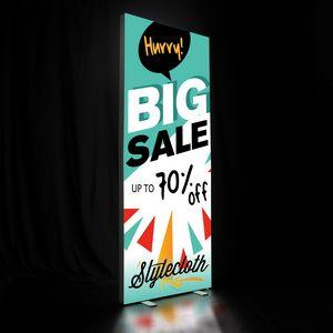 916459461-108 - 3' x 8' Deluxe SEG Glo Floor Display Kit  - thumbnail