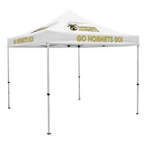 923728417-108 - Deluxe 10' Tent, Vented Canopy (Imprinted, 8 Locations) - thumbnail