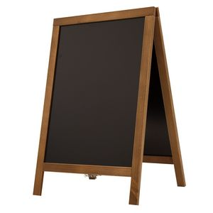 925916015-108 - Economy Wood A-Frame Chalkboard Hardware - thumbnail