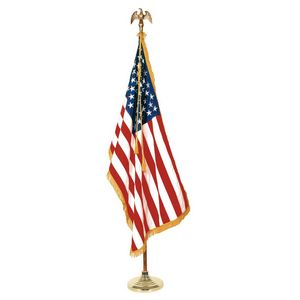 926221330-108 - 9' Deluxe Oak Set with 4' x 6' Flag - thumbnail
