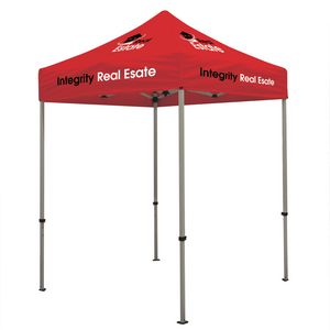 934576223-108 - Deluxe 6' Tent Kit (Full-Color Imprint, 7 Locations) - thumbnail