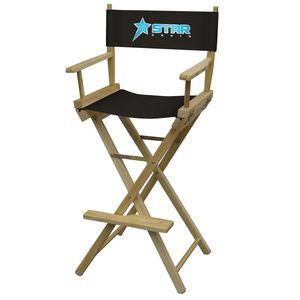 941588374-108 - Bar-Height Director's Chair (Full-Color Imprint) - thumbnail