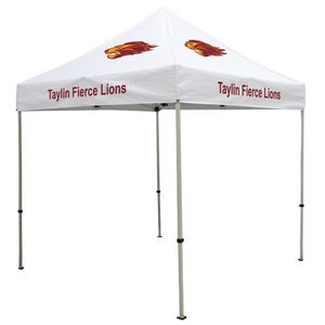 964574154-108 - Deluxe 8' Tent Kit (Full-Color Imprint, 7 Locations) - thumbnail