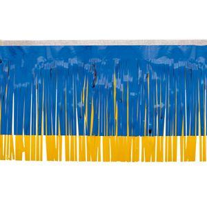 "966197665-108 - Victory Corps Metallic Blue & Standard Spanish Gold Fringe (15"") - thumbnail"