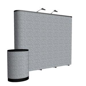 993148465-108 - 10' Straight ARISE Floor Display Kit (Fabric) - thumbnail