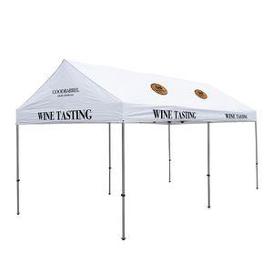 996185592-108 - 10' x 20' Premium Gable Tent Kit - 8 Location Imprint - thumbnail