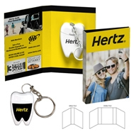 104875291-134 - Tek Booklet with Tooth Shaped Dental Floss With Key Chain - thumbnail