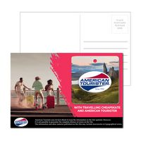 316001185-134 - Post Card With Full-Color Square Luggage Tag - thumbnail