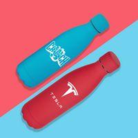 345566190-134 - 17 oz Matte Finish Stainless Steel Bottle - thumbnail